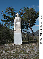 The Statue of the Cypriot Mother - Famous landmark of statue...