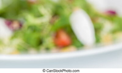 Very delicious fresh cooking salad