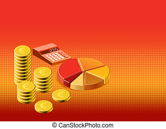 background finance stock illustration