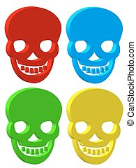 Skull - Set of the skull icons