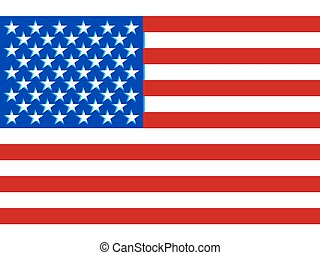 USA flag - Flag of the United States