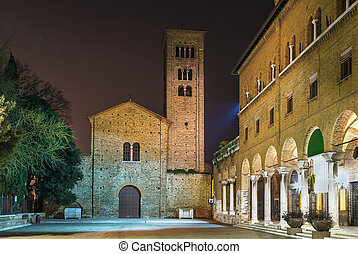 St Francis basilica, Ravenna, Italy - Evening The St Francis...