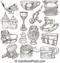 Objects - Hand drawings, Originals - OBJECTS - Collection...