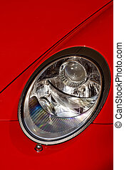 porsche car headlight