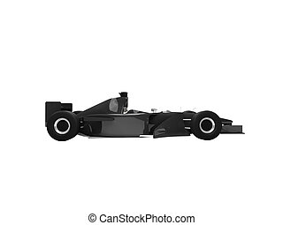 isolated speed car side view
