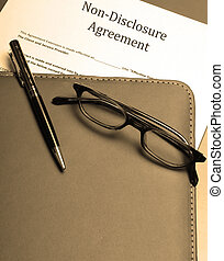non-disclosure agreement - An official non-disclosure...