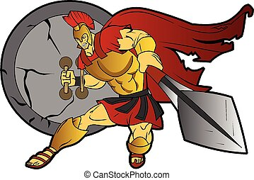 Spartan Trojan Greek Roman Warrior