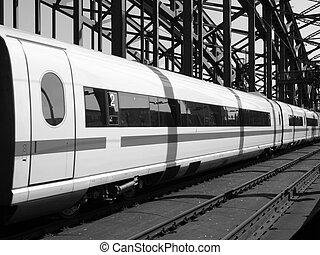 Train - Detail of an high speed train