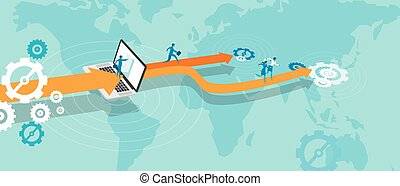 business expansion outsource online world expand...