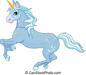 Fairy unicorn - Illustration of very cute unicorn