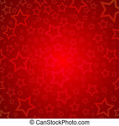 Starry background - Red background of stars