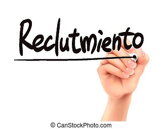 Spanish words for We are hiring