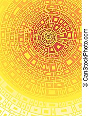 yellow sun abstract background - yellow sun abstract...