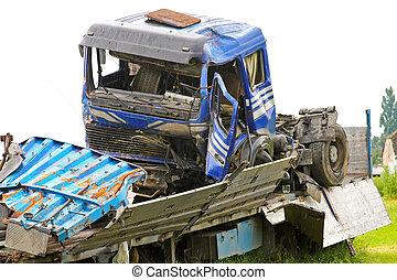 Truck crash 2