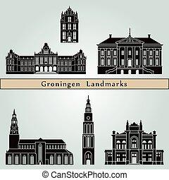 Groningen Landmarks - Groningen landmarks and monuments...
