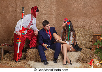 Ukrainian traditions - Ukrainian national clothes traditions...