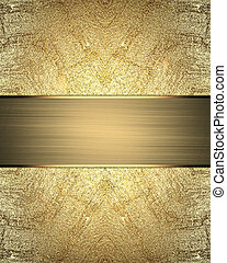 Element for design. Template for design. Abstract gold...