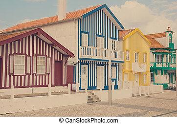 costa, Nova, Aveiro, PORTUGAL,