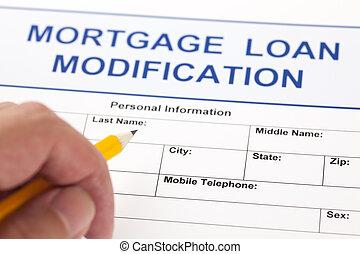 Mortgage Loan Modification form - Mortgage Loan Modification...