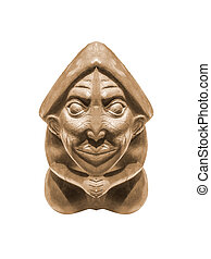 peruano, Pre-Colombino, Escultura,