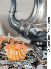 Cupcakes with chocolate chips - Cupcakes with chocolate...