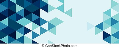 abstract colourful triangle background