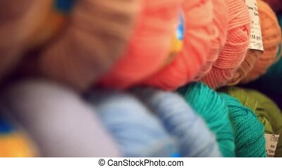Colorful yarn in fabric market - Colorful yarn in the fabric...