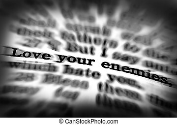 Scripture Quote Love Your Enemies