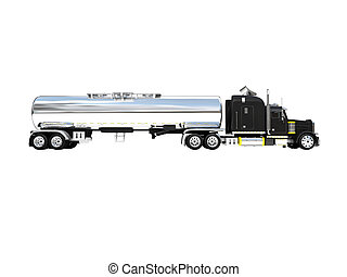 isolated big car side view - isolated big car on a white...
