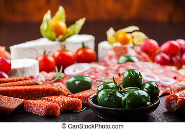 Antipasto dinner platter - Antipasto and catering platter...