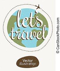 The emblem of the traveler.