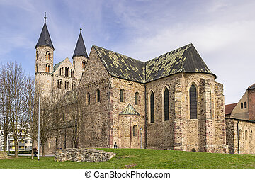 "Monastery Magdeburg - Image of the Monastery ""Our dear..."