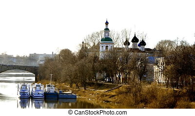 View of the church Vologda Russia - View of the church from...