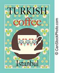 Turkish Coffee Poster Design