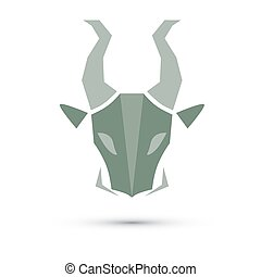 Illustration vector of zodiac, Capricorn