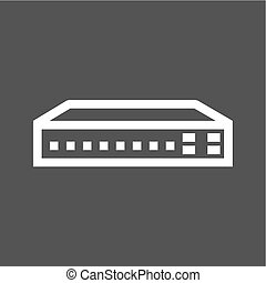 Networking Switch - Networking switch, network, router icon...
