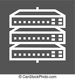 Network Switch - Network switch, server, switch, port icon...