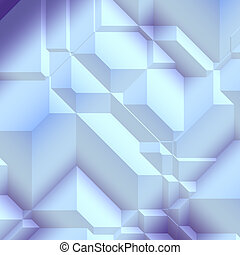Angular geometric abstract - Smooth angular geometric...