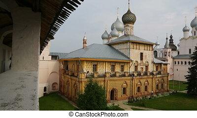 Panorama of Kremlin in Rostov the Great, Russia - Panorama...