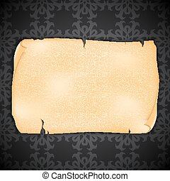 Vintage background - Orante background with old paper EPS10...