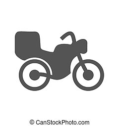 Motor Bike - Bike, motorbike, automobile, courier icon...