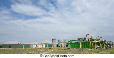 Biogas plant - Getting elektroenergii on biogas plant