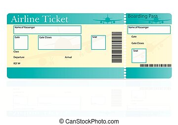 Airline Ticket Clip Art – Cliparts