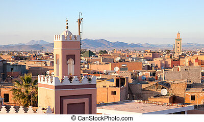 Marrakech, Morocco - Historical city of Marrakech