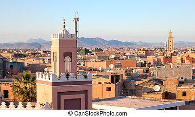 Marrakech, Morocco - Historical city of Marrakech