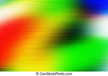 digitally generated image of colorful black background -...