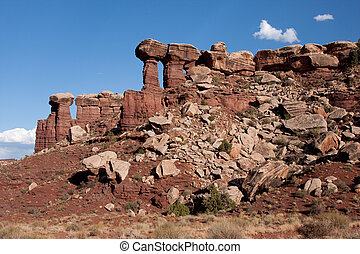 Shafer Canyon Overlook - Canyonlands National Park is...