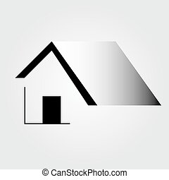 Abstract home- logo