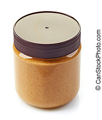jar of peanut butter spread