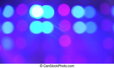Stage Blurred Lights abstract - Abstract background with...